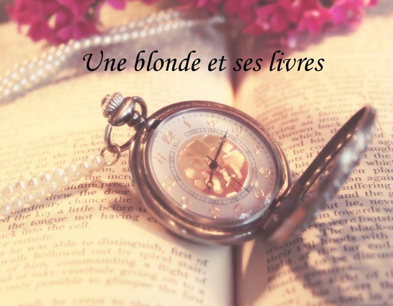 Une blonde et ses livres