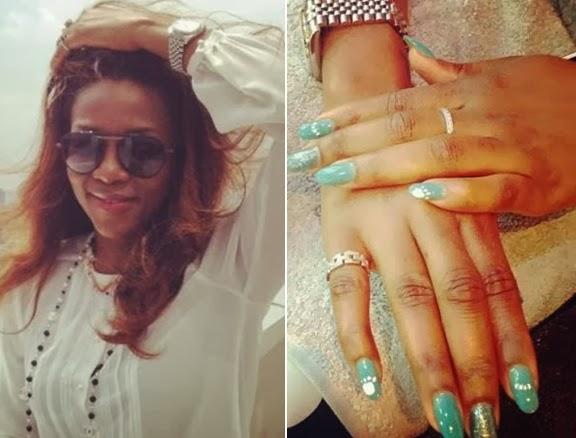 genevieve nnaji rolex watch 4 million