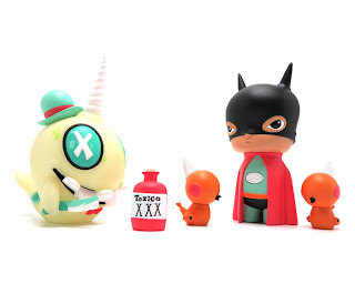 25 New vinyl toys by Kathie Olivas and Brandt Peters