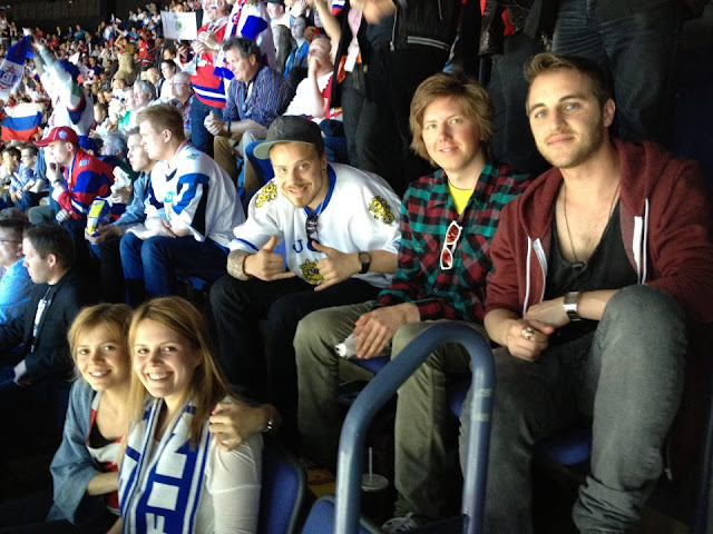 Ice Hockey, World Cup, Finland, Russia, Slovakia, 2011