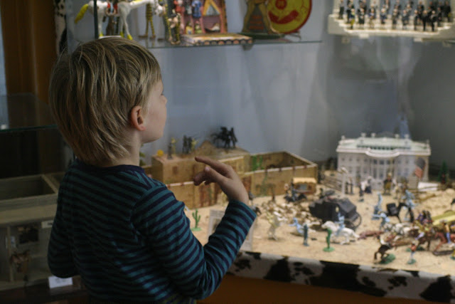 Matti at Istanbul Toy Museum.