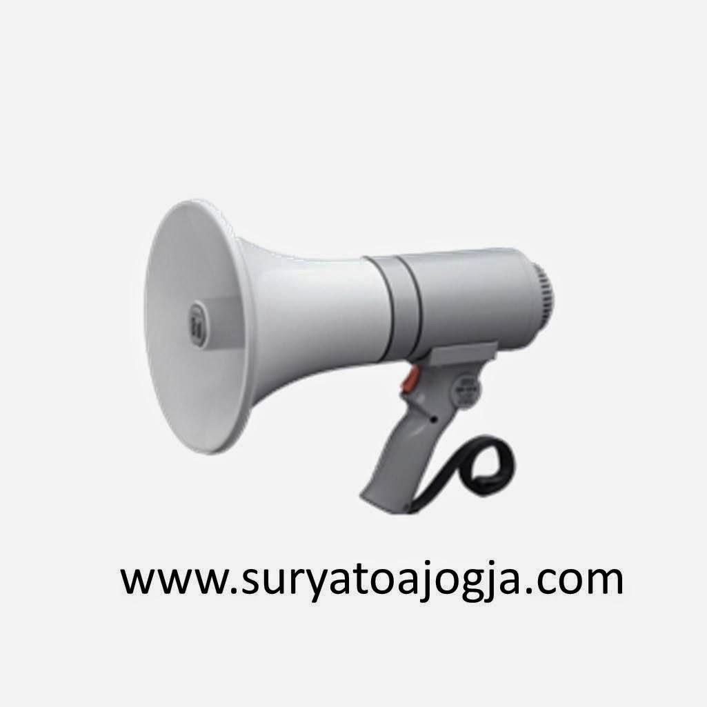 Harga Jual Speaker Toa Megaphone Vector Illustration Of Man Pengeras Suara Demo Zr