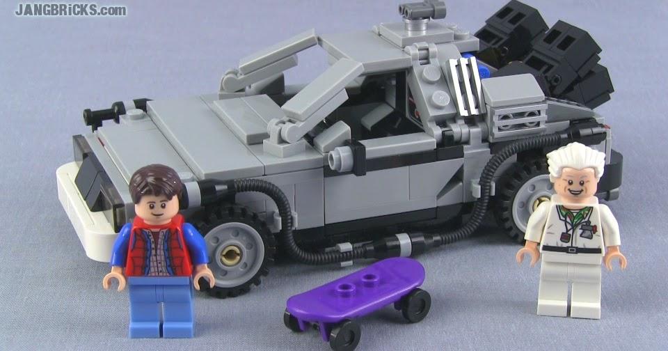 Lego Cuusoo Back To The Future Delorean Set 21103 Review