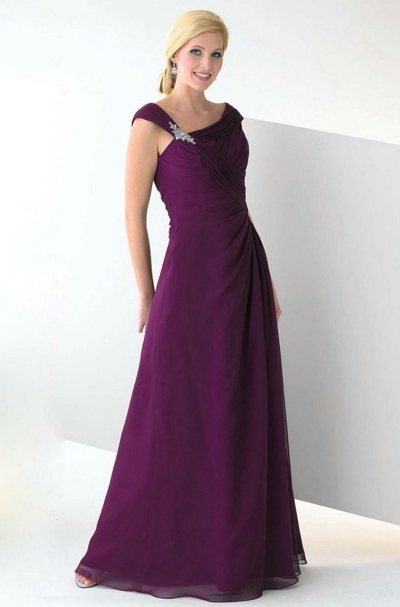 Why you should consider purple plus size bridesmaid for Plus size purple wedding dress