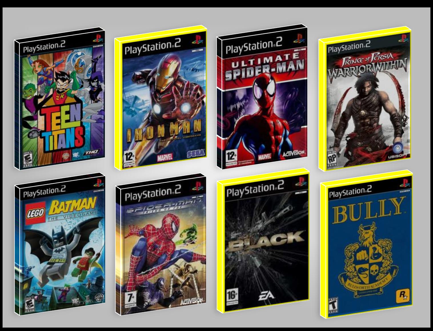 catalogo juego ps2: