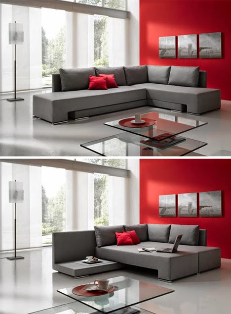 Innovative and Cool Convertible Sofa Designs (10) 2
