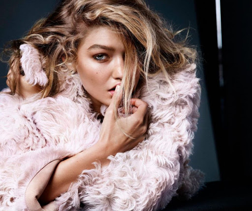 Gigi Hadid Vogue Magazine Netherlands November 2015 photo shoot