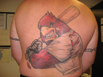 Cardinal Tattoo Design Picture Gallery - Cardinal Tattoo Ideas