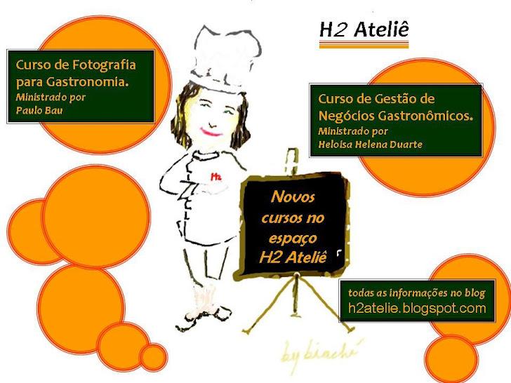 Quem compartilha excelência em gastronomia