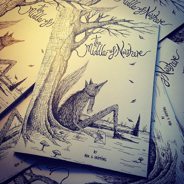 The Middle of Nowhere: Illustrations by Alex Griffiths