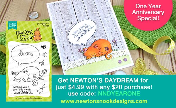 Newton's Nook Designs Anniversary Sale - Newton's daydream