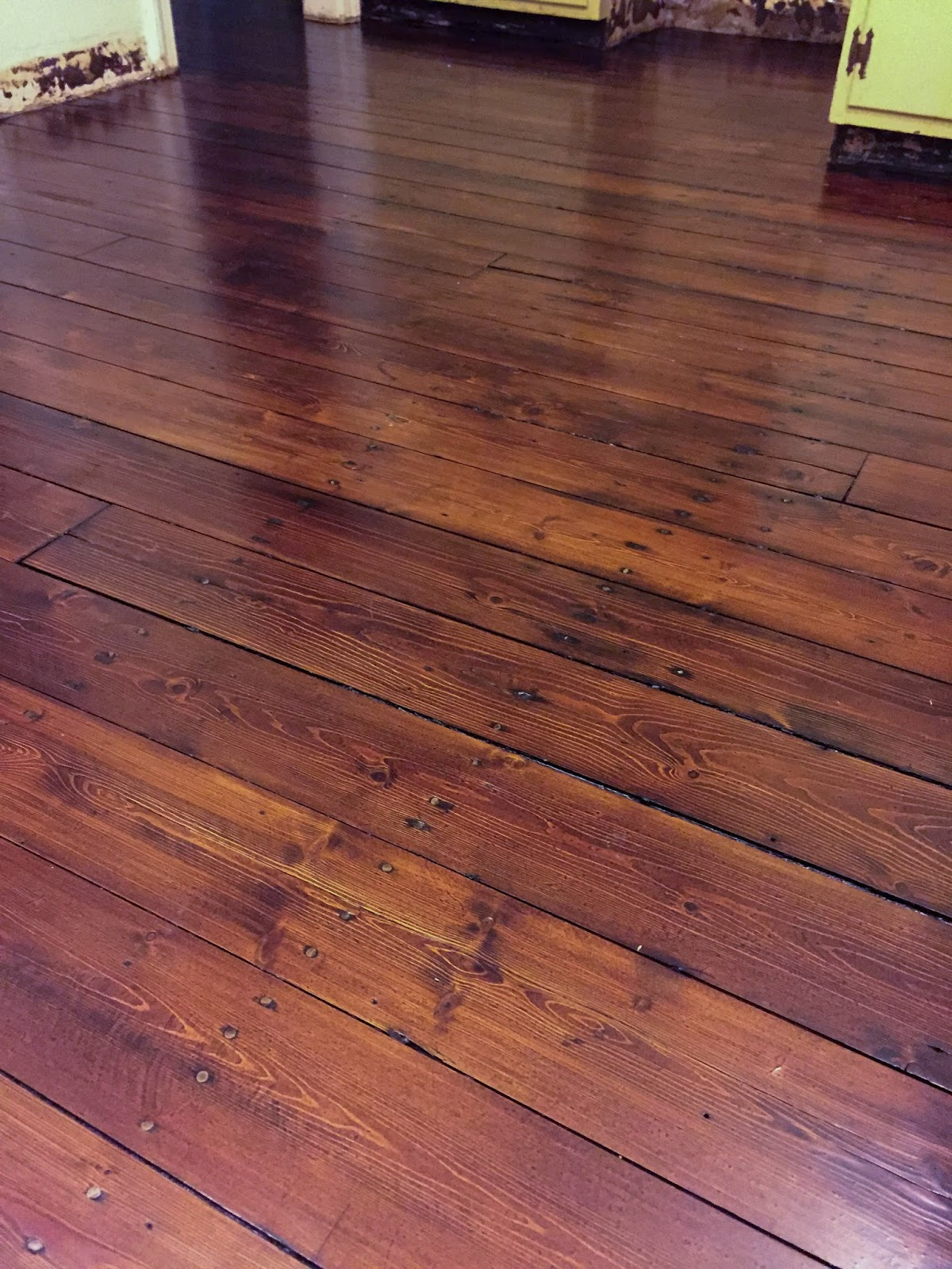 Restoring the splendor old house restorations old home for Pine wood flooring