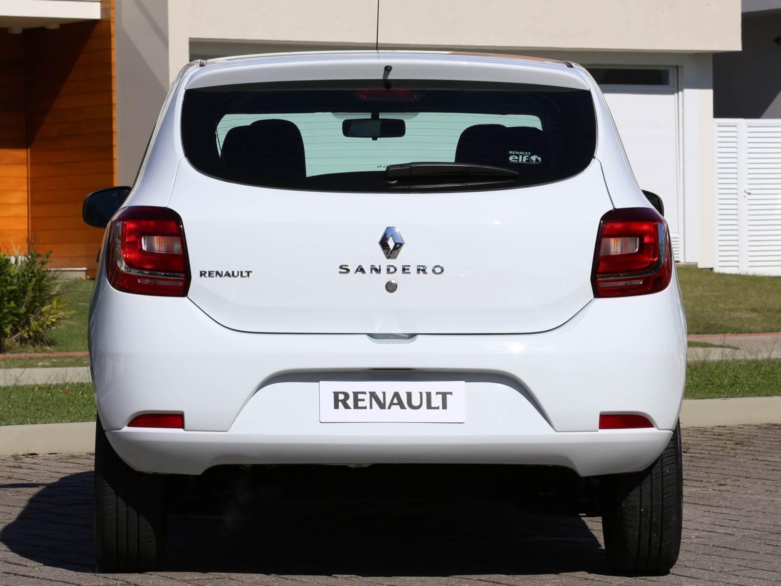 Novo Renault Sandero 2015