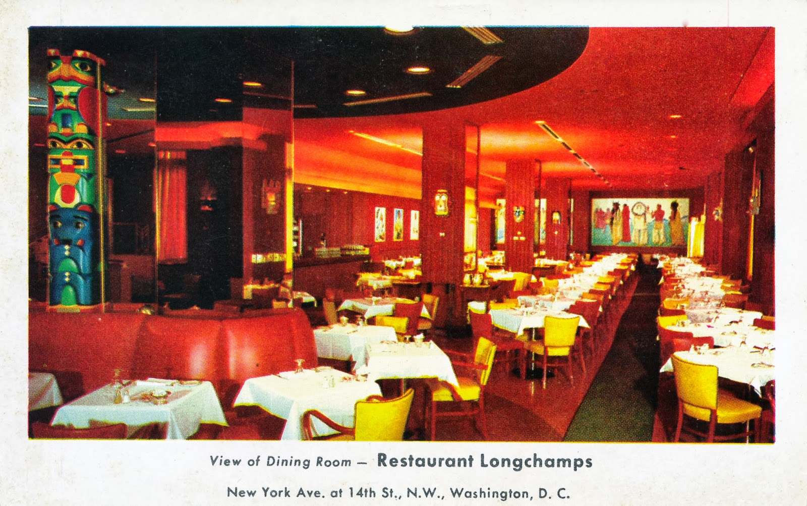 Fine Dining In Washington DC In The 1950s Streets Of