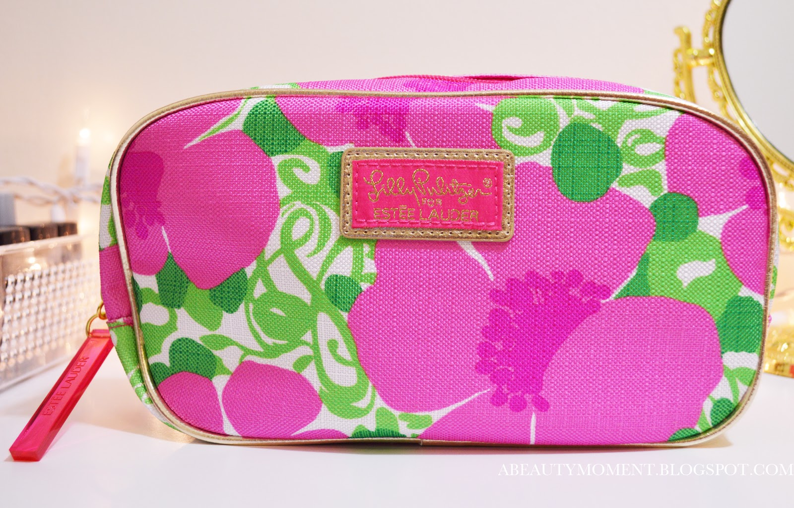 Lilly pulitzer makeup bag