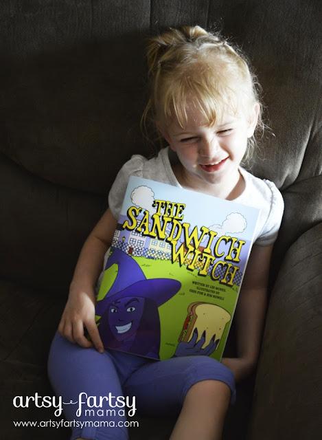 The Sandwich Witch children's book