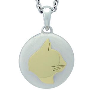 Precious Vessel Cat Cremation Ash Pendant