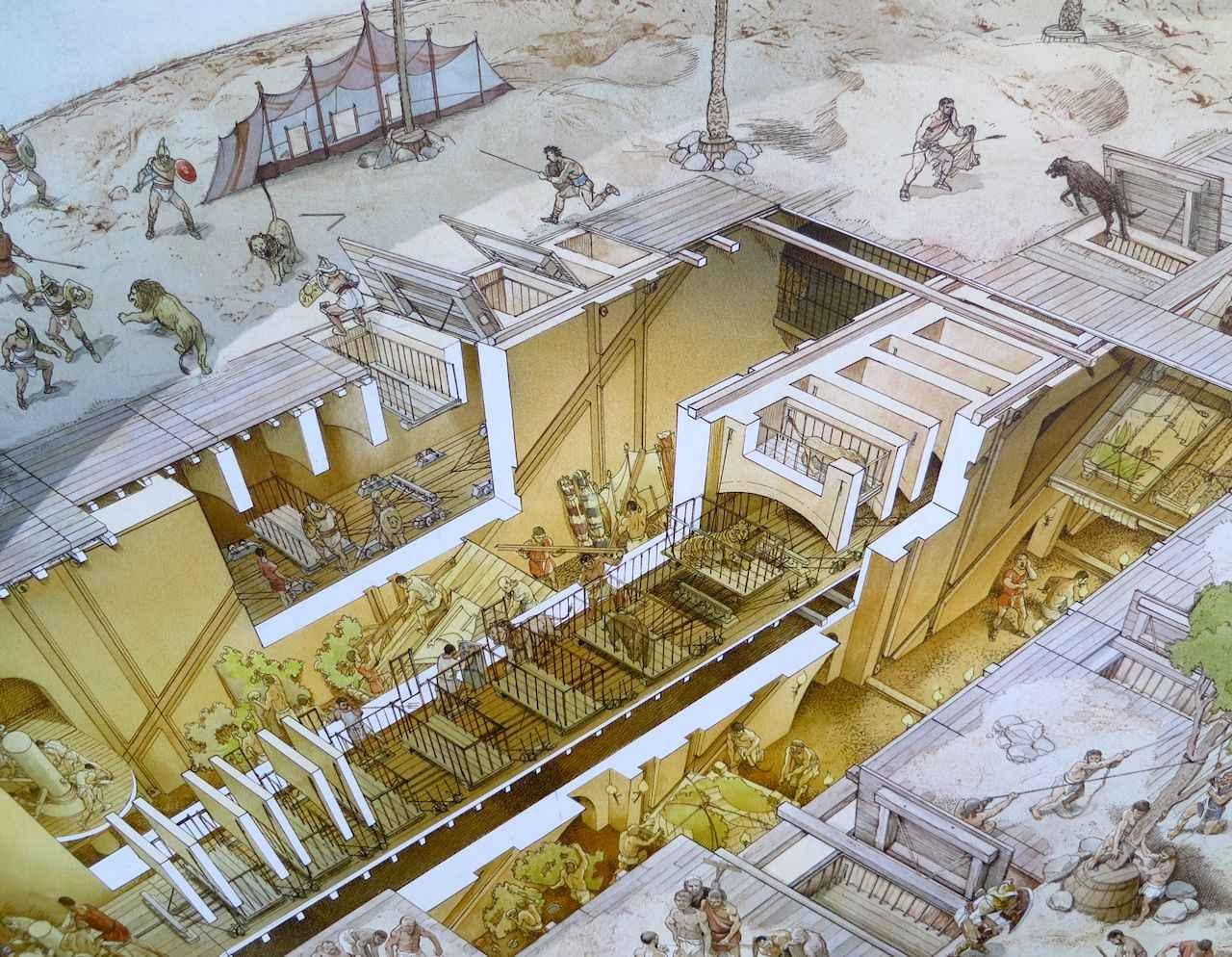 O Coliseu era um imenso estádio ou salão de espetáculos cruéis ou assassinos. Hoje não há cenários semelhantes?