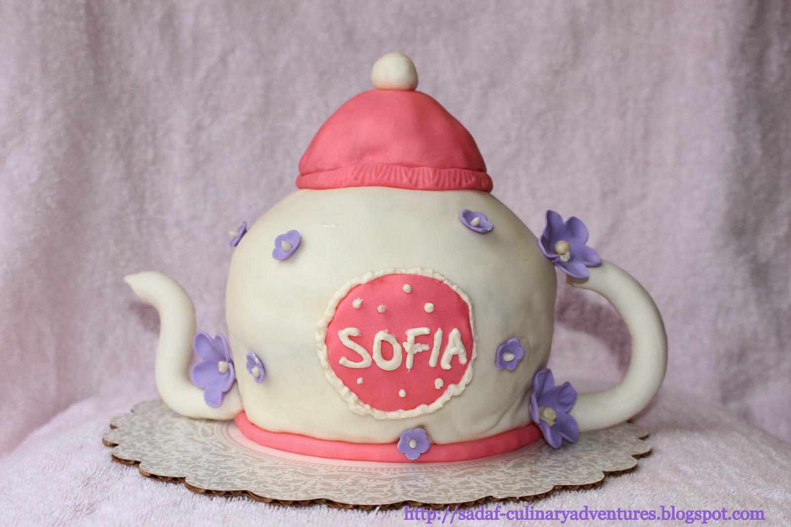 teapot cake pan