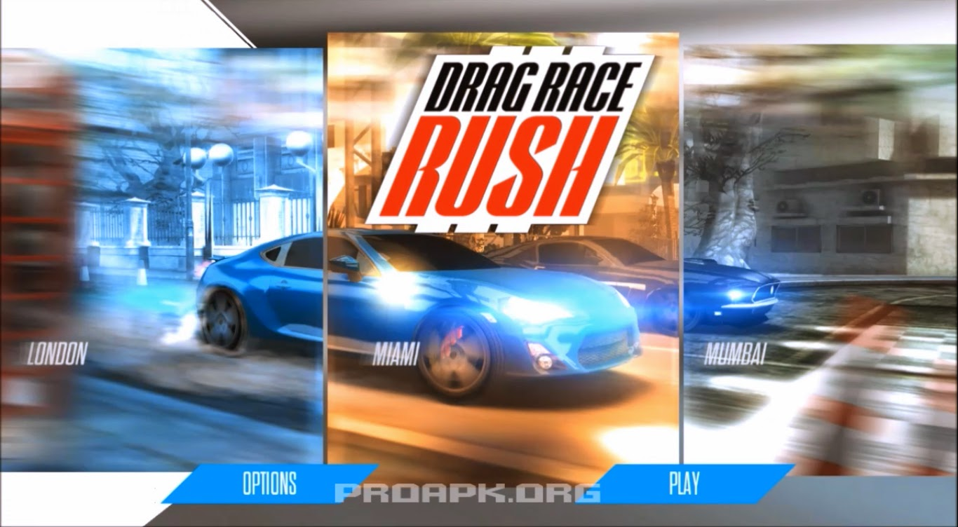 Drag Race: Rush Gameplay Android
