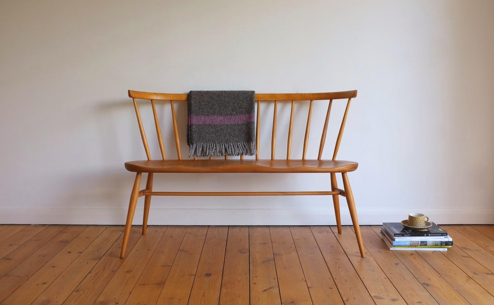 Antikmodern The Shop Ercol Love Seat