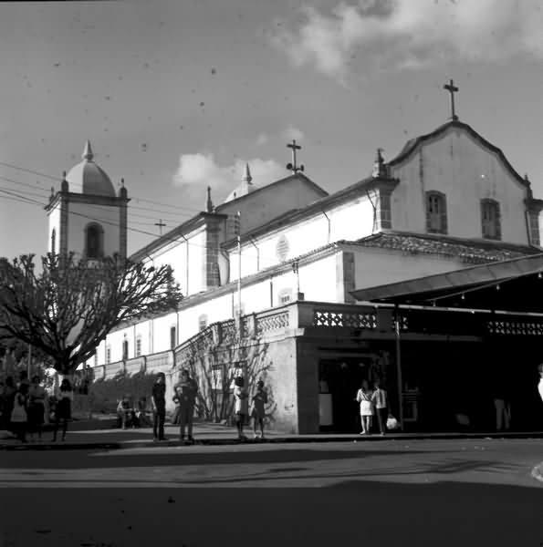 Fundos Igreja da Matriz de Nossa Senhora da Piedade de Barbacena MG