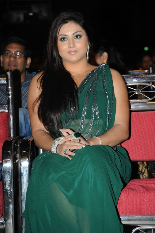 Namitha at Cinemaa Awards  Hot Saree Stills Photogallery Photoshoot images