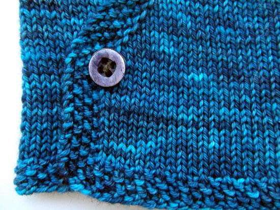 Midnightsky Fibers New Sky Baby Kimono Knitting Pattern