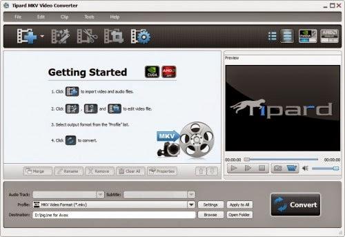 Tipard-MKV-Video-Converter-7.1.52