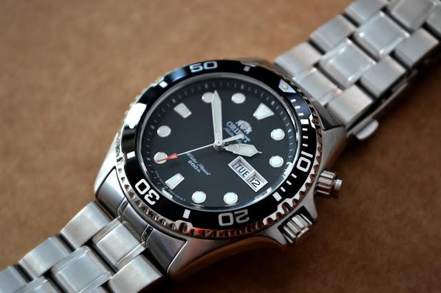Review reloj Orient Mako Diver CEM65008B.