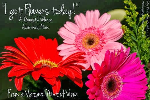 i got flowers today poem