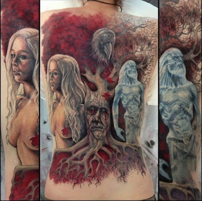 game of thrones tattoos that are absolutely perfect cool things shared on facebook. Black Bedroom Furniture Sets. Home Design Ideas