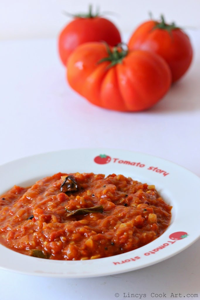 Onion tomato thokku recipe