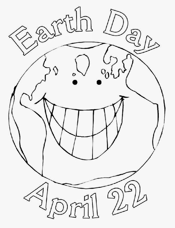 Apples4theteacher Coloring Pages : Earth day color sheets free coloring sheet