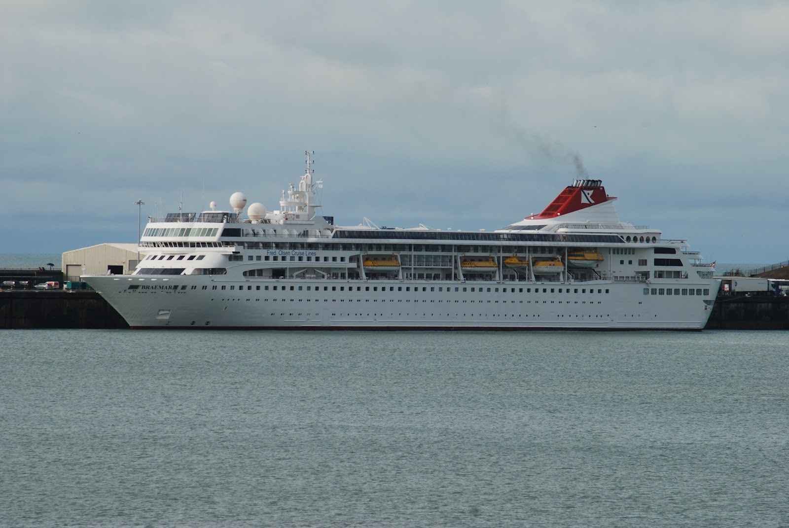 NAVIGATIONCruising And Maritime Themes Cruise Ship QuotBRAEMARquot
