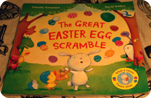 Easter Activities For Toddlers. Easter Books - The Great Easter Egg Scramble. www.lukeosaurusandme.blogspot.co.uk