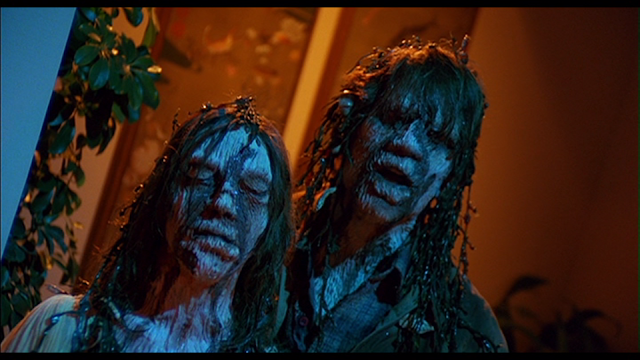 Becky (Gaylen Ross) and Harry (Ted Danson) returned from a watery grave in CREEPSHOW (1982)