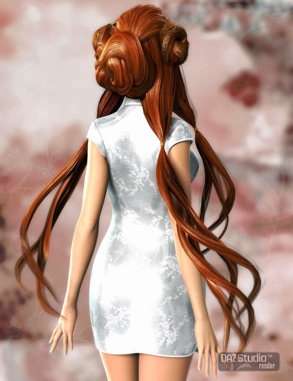 Thian cheveux pour Genesis et Genesis 2 Femme