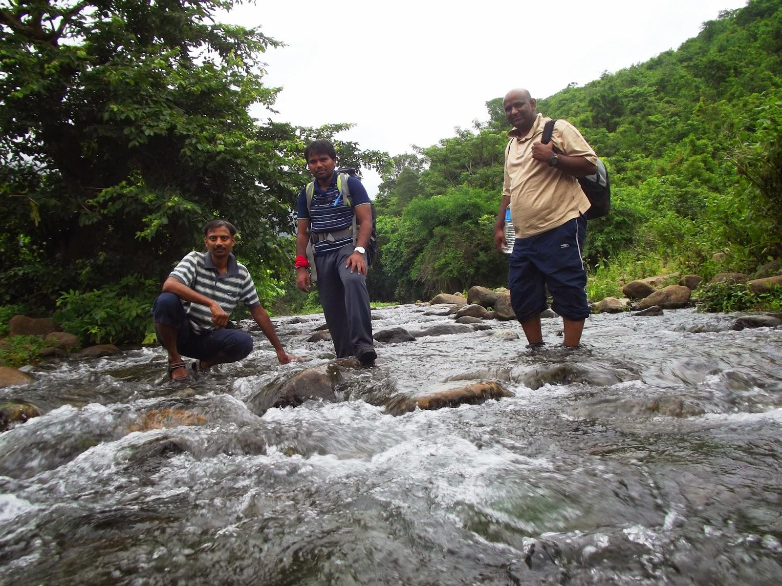 Water Stream on the way to Mahendragiri