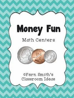 Fern Smith's Classroom Ideas  Money Fun Math Centers