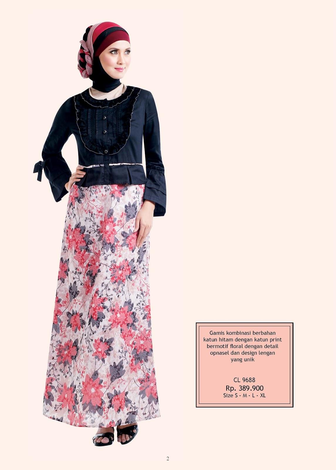 Koleksi Baju April Jasmine Busana Muslim Modern Koleksi