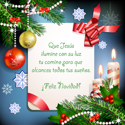 Postales de Navidad con mensajes para compartir
