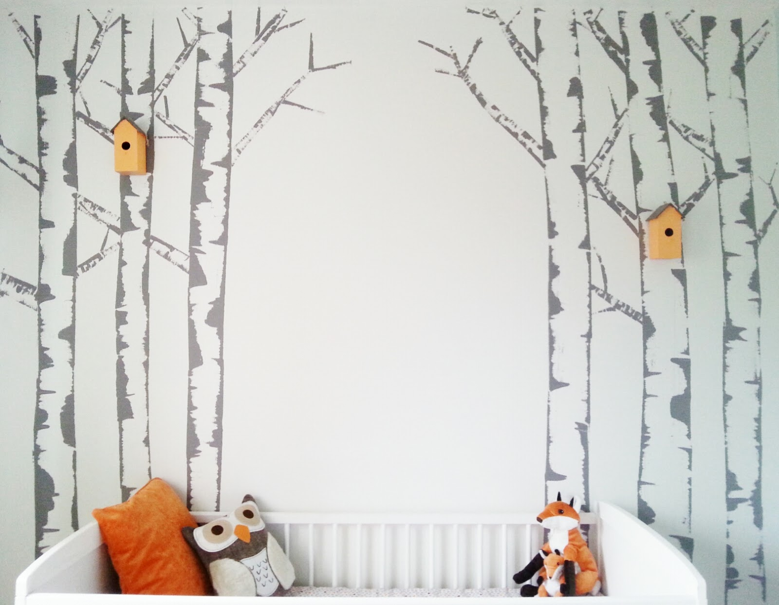 If you go down to the wood 39 s today make do and diy for Diy photo wall mural