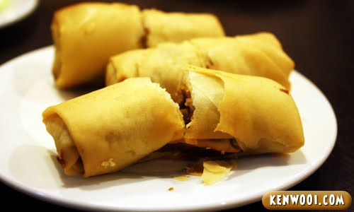 ipoh dim sum deep fried spring roll
