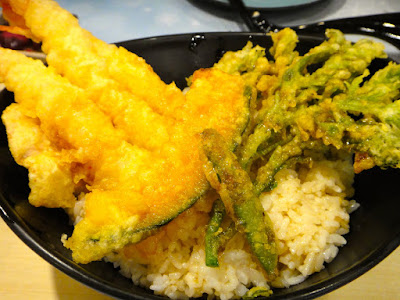 Tendon at Sato Japanese Restaurant Central Park Mall