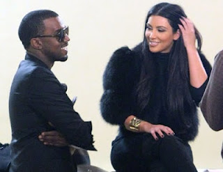 Kim kardashian and Kanye West fashion
