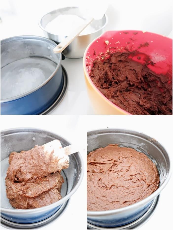 Schokoladentarte mit warmen Beeren