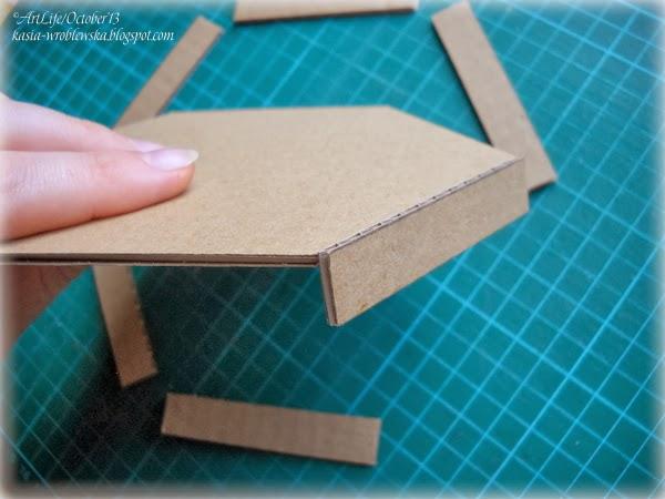 Коробка из микрогофрокартона своими руками 13