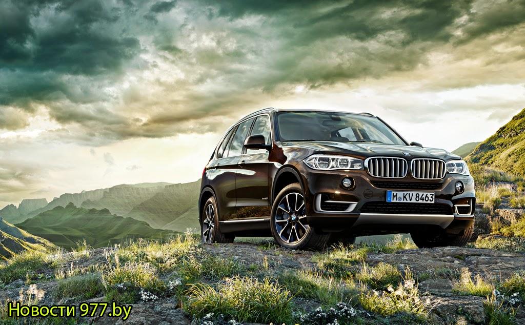 BMW X5 новости 977.by