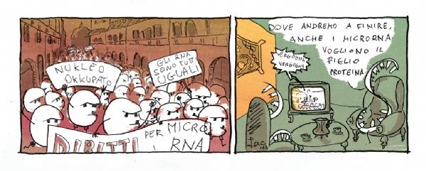 microRNA cancro AIRC iacopo leardini vignetta